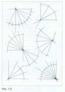Деление углов на равные части