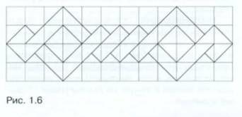Рисунок линейного орнамента