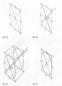 Рисунок квадрата в перспективе