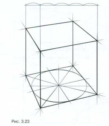 ... рисунок куба и четырехгранной призмы: hspline.com/perspektivnyj-risunok-kuba-i-chetyrexgrannoj-prizmy.html
