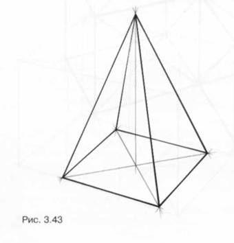 рисунок пирамиды геометрической