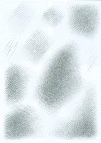 Штриховка тональных пятен
