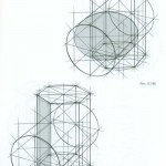 Врезка цилиндра и шестигранной призмы