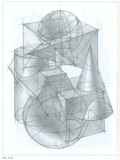 Основы рисунка  А Ф Шембель  Рисование натюрморта
