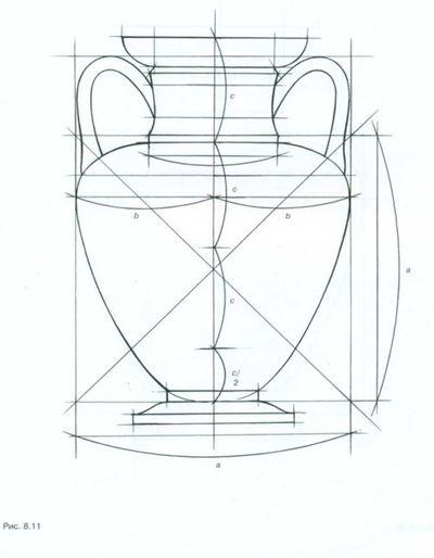 Рисунок вазы