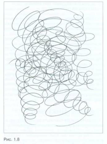 Рисунок кривых линий