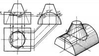 Пересечение простых геометрических тел