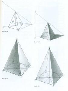 Тональный рисунок пирамиды