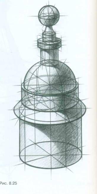 архитектурный рисунок: