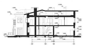 Чертежи разрезов зданий