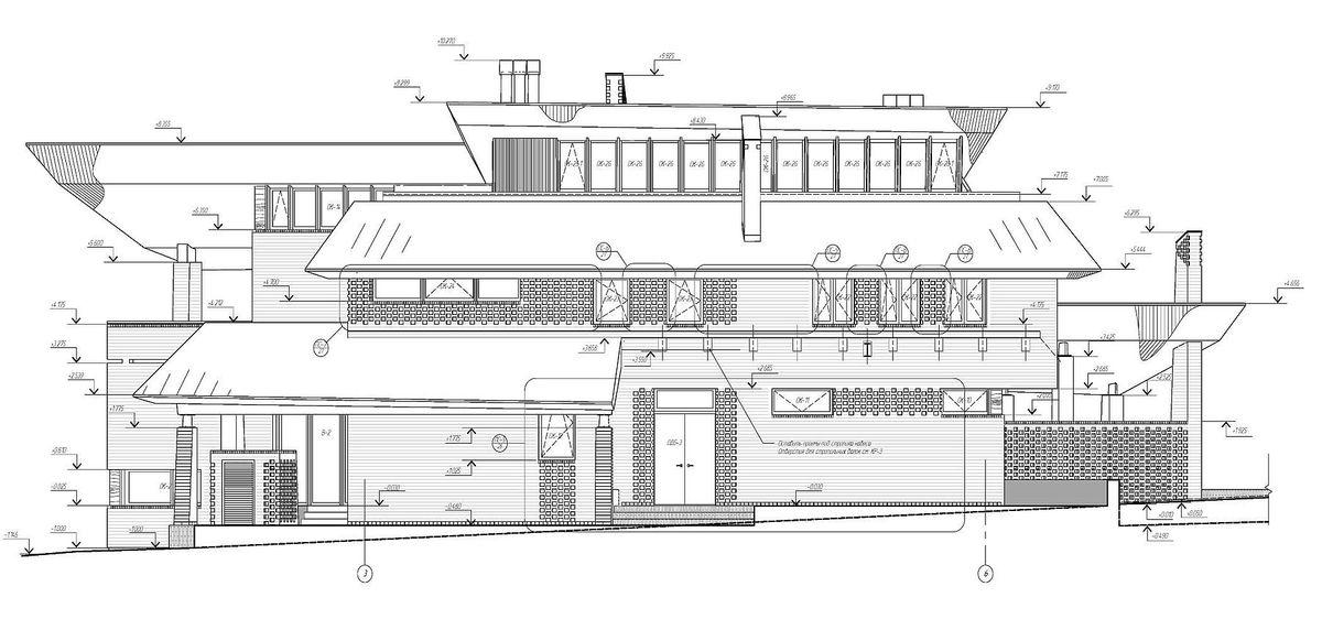 архитектурно-строительные чертежи