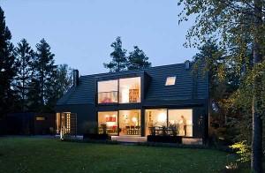 Архитектура жилого дома в Швеции