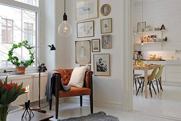 Новое в интерьере шведского жилого дома