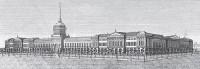 высотный объем здания Адмиралтейства (арх. Захаров)