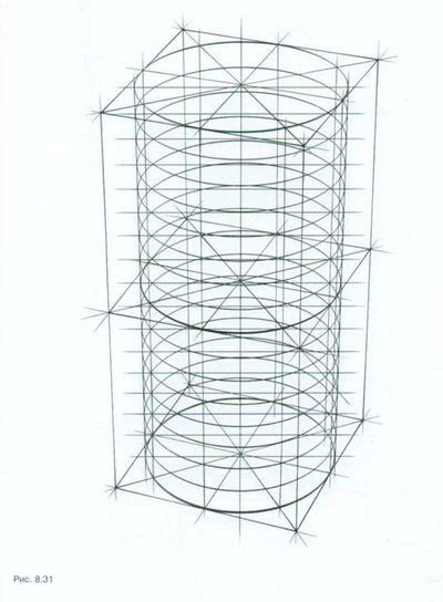Рисуем винтовую лестницу